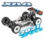 XRAY XB8'21 - 1/8 LUXURY NITRO OFF-ROAD CAR (#350016)