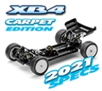XRAY XB4C´21 - 4WD 1/10 Electric Off-Road Car - Carpet Edition (#360008)
