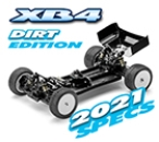 XRAY XB4D´21 - 4WD 1/10 Electric Off-Road Car - Dirt Edition (#360009)