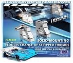 Radioplattenbefestigungsbolzen Aluminium(#346231)