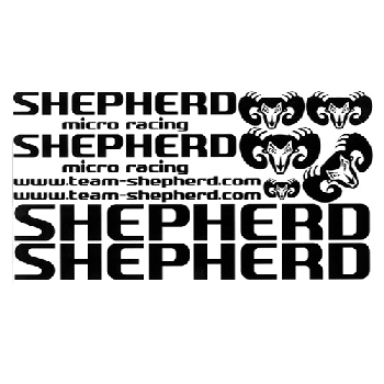 "Decals ""Shepherd""  black (#900063)"