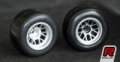 Ride Rear F-1 Rubber Tire Preglued for F-104, ETS Tire (2pcs/Set)